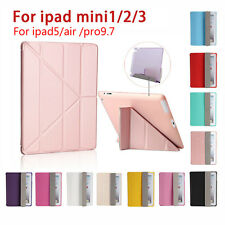 For Apple iPad Mini 1 2 3 Ultra Thin Leather Magnetic Smart Case Cover