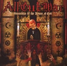 ALL OUT WAR - Assassins In The House Of God - CD - **Excellent Condition**