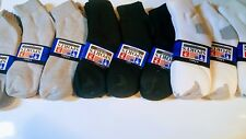 Dozen Ankle/Quarter Crew MENS Sport Socks Low Cut Size 9-11 10-13 (12Pairs)
