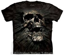 Breakthrough Skull T-Shirt in Adult Sizes - Dark Fantasy by The Mountain Tees