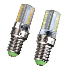 10x E14 Silicone light lamp 110V 220V 64-3014 SMD LED bulb Dimmable White Warm