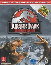 JURASSIC PARK OPERATION GENESIS PRIMAS OFFICIAL STRATEGY GUIDE By Searle Mike VG