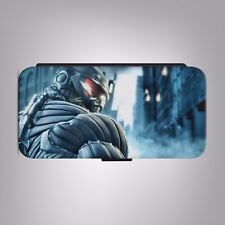 Crysis Maximum Edition Xbox LEATHER FLIP PHONE CASE COVER fits IPHONE SAMSUNG