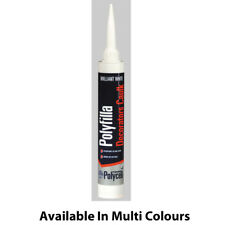 Polycell Decorators Caulk 380ml Trade Cartridge in White & Magnolia
