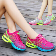 Women's Fashion Breathable Shoes Lace Up Casual Sneakers Trainer Running Shoes