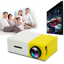HD LCD Projector Portable Mini 1080P LED Projector 3.5mm Audio HDMI Player