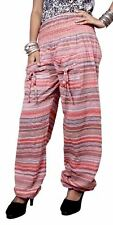 Cotton Tie dye Straight Genie Harem Pants Boho Gypsy Hippie Trousers