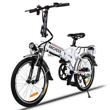 9 Types 26inch 27 Speed Folding Electric Mountain Bike with Suspension Fork LED
