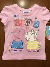 Peppa Pig and Suzy BFF's short sleeve shirt