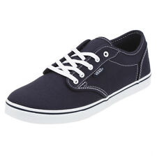 Vans Womens Atwood Shoes in Blue