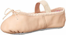 NEW CAPEZIO Daisy 205 BALLET SHOE SLIPPERS Full Sole Pink Kids 13.5 M Youth NIB