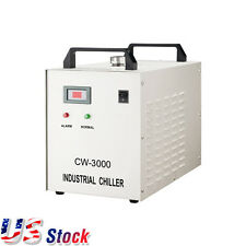 USA! 110V CW-3000DF Thermolysis Industrial Water Chiller for 0.8KW/1.5KW Spindle