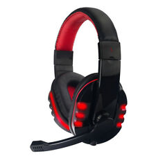 3.5mm Plug & USB Wired Gaming Headset Headphone with Mic for PS4,Mac,Phones
