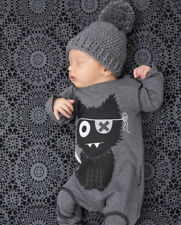 New 2017 baby rompers baby boy clothing cotton newborn baby girl clothes long