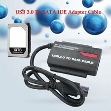 "NEW 891U3 USB 3.0 to 2.5"" 3.5"" HDD SATA IDE Adapter Converter+Power Cable GA"