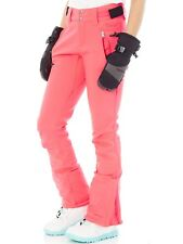Protest Pink Cerise Lole Softshell Womens Snowboarding Pants