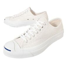 Converse Jack Purcell Signature White Leather Mens Shoes Sneakers 151476C