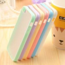 Candy Color Cover Phone Cases For iPhone5 5S Moblie Phone Protection