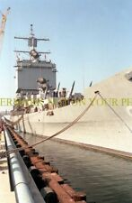USS Long Beach CGN-9 Color PHOTO USN Navy Decommissioned Ship CGN 9 Military