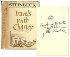 John Steinbeck Signed Copy of ''Travels With Charley''