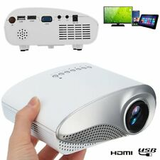 3D Portable 1080P HD LED Mini Projector Multimedia Home Theater USB VGA HDMI AU