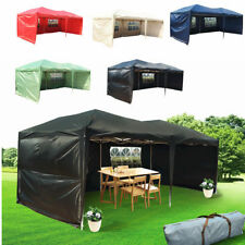 Panana 6x3mtr FULLY WATERPROOF Pop Up Gazebo with Sides and Carry Bag