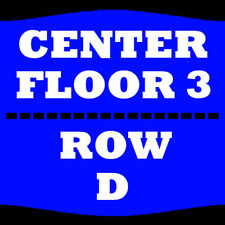 1-4 TIX REO SPEEDWAGON 2/22 FLOOR 3 ROW D VERIZON CENTER MANKATO