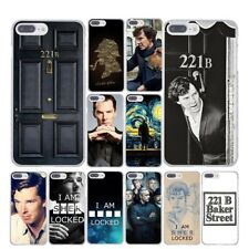 For iPhone 8 8 Plus Case Cover I Am Sherlock Holmes Locked Popular TV Series