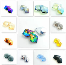Wholesale crystal elements baroque pendant glass beads 22x15mm #6090 HOT