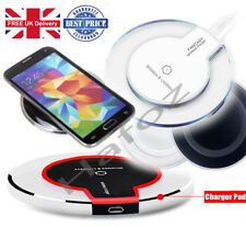 Wireless Charger Qi Charging Pad Plate Samsung Galaxy S8 S7 S6 Edge S5 Note 2 3