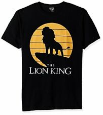 Disney Men's Lion King Simba Pride Rock Silhouette Graphic T-Shirt