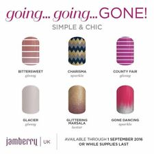 Jamberry nail 1/2 a sheet adult wrap or 1/3 Junior with bonus accent nail sheet