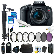 Canon EOS Rebel T7i DSLR Camera with 18-55mm Lens + Expo Advanced Kit
