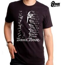 David Bowie T-Shirt / New Wave,Mtv 80's,Official David Bowie Retro Rock Tee,