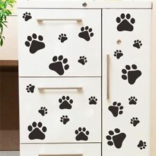 funny Dog Cat Paw Print sticker for kids room home decal Wall Stickers DIY