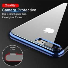 Luxury TPU Case iPhone X Transparent Ultra Thin Silicone Cover For iPhone 7 6 6S
