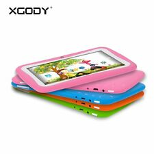 Kids Tablet PC 7'' Google Android 5.1 Quad Core 8GB Dual Camera Bluetooth XGODY