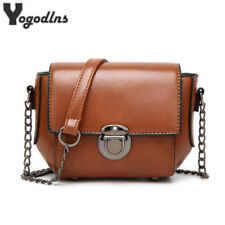 New Fashion Crossbody Bags Single Chain Shoulder Bags PU Leather Messenger Bags