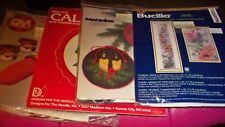 Counted Cross Stitch, Crewel & Plastic Canvas Kits - U-PICK 1 FROM 4
