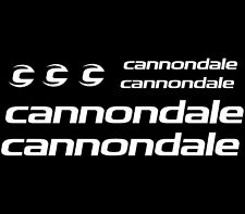 Cannondale Decal Cycling Bike Stickers Set of 7 Frame Replacement Race Mountain