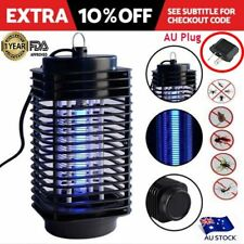 Electric Mosquito Fly Bug Insect Zapper Killer With Trap Lamp Black OZ