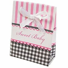 12 PINK Baby Shower Favor Boxes for Favors at Your Baby Shower - Sweet Baby Girl