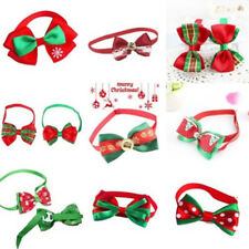 Puppy Bowknot Cute Christmas Dog Cat Pet Necktie Collar Bow Tie Clothes C