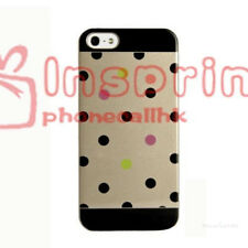 Polka Dots Clip-on Smooth Skin Hard Case Cover For Apple iPhone 5 5S