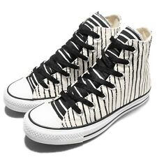 Converse Chuck Taylor All Star Stripes White Black Women Casual Trainers 551653C
