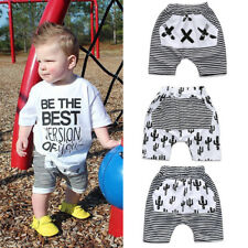 Toddler Infant Baby Boy Girl Kid Harem Pants Shorts Bottoms PP Bloomers Trousers