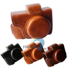 【US】PU Leather Detachable Camera Protector Case Bag For Olympus EM10 II 14-42mm