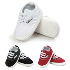 Toddler Baby Canvas Shoes Soft Sole Prewalkers Casual Baby Shoes for 0-18M