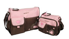 2 Colors Cute Baby Diaper Nappy Bag Changing Mother's Shoulder Handbag Blue/Pink