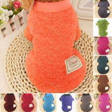 Newly Small Dog Clothes Sweater Winter Warm Puppy Pet Cat Coat Apparel Clothes